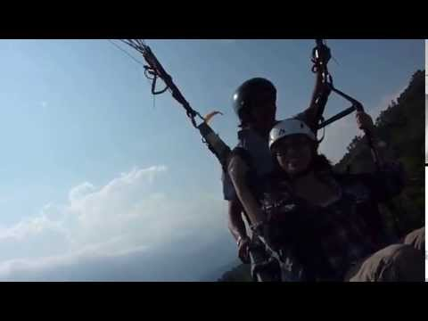 Paragliding in Nepal 2010