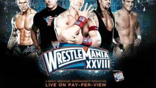 WWE WrestleMania 28 Official Theme (Invincible-feat.Ester Dean - Machine-Gun-Kelly)