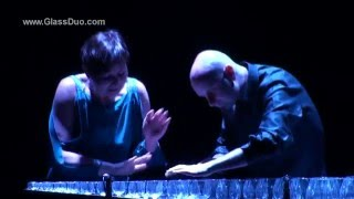 MUSICAL GLASSES - Harry Potter Theme - LIVE