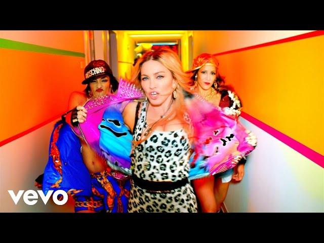 """Vídeo de """"Bitch, I'm Madonna"""" de Madonna ft. Nicki Minaj"""