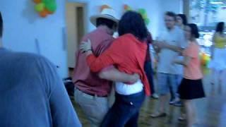 Dança Londoño e Silvia dançando