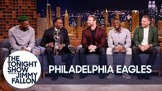 Jimmy Interviews the Super Bowl Champion Philadelphia Eagles