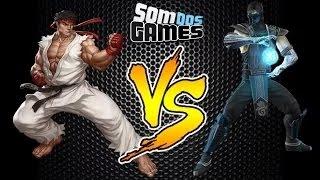 Ryu VS Sub-Zero - Batalha dos Games