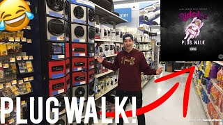 "RICH THE KID ""PLUG WALK"" SPEAKER PRANK IN WALMART!"