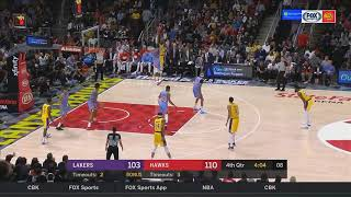 LeBron James Embarrasses Himself With Lakers After Entire Team Chokes vs Hawks! Lakers vs Hawks