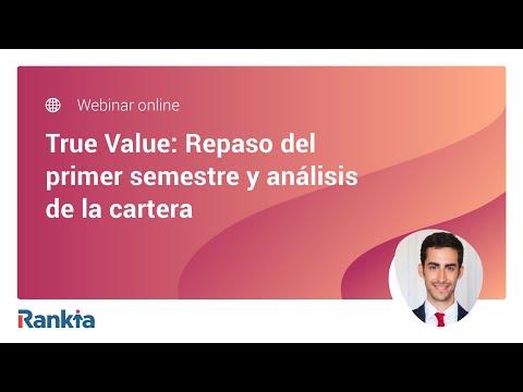 Alejandro Estebaranz, asesor del fondo True Value, repasa la evolución de los fondos True Value y True Value Small Caps durante el primer semestre de 2020 y comentará las principales novedades en las carteras. Muy interesante también su reflexión sobre la situación actual del mercado bursátil y cómo el Coronavirus ha creado interesantes oportunidades de inversión para añadir a la cartera.