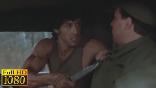 Rambo First Blood (1982) - Army Truck Hijacking Scene (1080) FULL HD