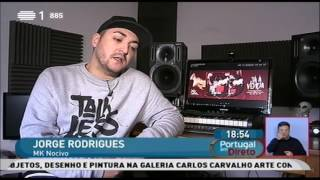 MK Nocivo - Entrevista RTP1  (Portugal em Directo 11/01/2017)