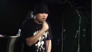 """TDHM Presents MIKRIS """" HALLOWEEN LIVE """" At WANNABE'S 10/28/2012"""