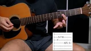 Pele de Maçã - Matogrosso e Mathias aula solo violão (como tocar)