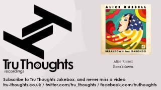 Alice Russell - Breakdown - feat. Darondo