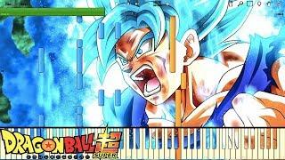Super Saiyan Blue Theme / SSJ Blue - Dragon Ball Super OST (Piano Tutorial) [Synthesia]