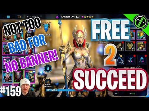 Let's See How Fast We Can Get This Arbiter!! Free 2 Succeed - EPISODE 159