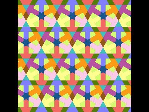 伊斯蘭的幾何拼貼 13