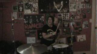 """Social Distortion """"Reach For The Sky"""" Drum Cover"""