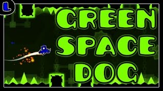 [2.0] Green Space Dog - by Strontium - Lazy Geometry Dash