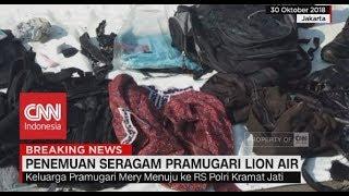 Penemuan Seragam Pramugari Lion Air