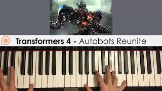 Transformers 4 OST - Autobots Reunite (Piano Cover) | Patreon Dedication #162