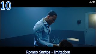 TOP 10 LATIN SONGS (AUGUST 5, 2017)