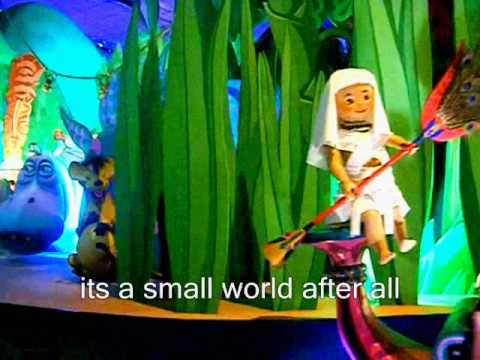 Its a Small World -Sing Along & Video (Disney Land Paris) - YouTube