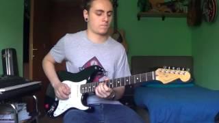 Frank Gambale-6.8 Shaker guitar cover