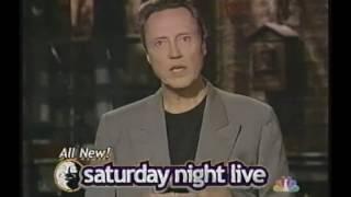 Saturday Night Live - Christopher Walken, Weezer promo