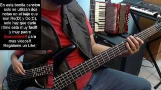 17 Años Los Angeles Azules Bass Cover Tutorial