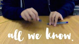 All We Know - The Chainsmokers ft. Phoebe Ryan (Pen Tapping Cover)