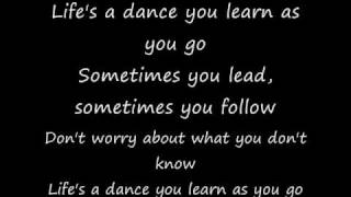 John Michael Montgomery - Life's a dance lyrics