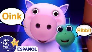 La canción de los sonidos de los animales | Canciones infantiles | LittleBabyBum
