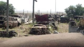 Cemitério de carros antigos, interior de SP...