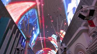 Fremont Street Experience -  Heart -  Crazy on You