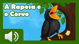 A Raposa e o Corvo - Histórias infantis em português
