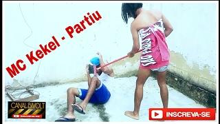 Encenação MC kekel - Partiu