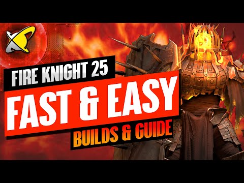 EASY FIRE KNIGHT 25 SPEED RUN!! | Champion Builds & Guide | RAID: Shadow Legends