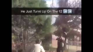Rapper BlocBoy JB Dances Then Shake N Bake Police
