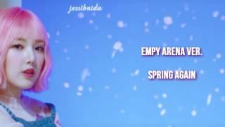 [ EMPTY ARENA ACAPELLA VER.] Spring Day - Yerin,Kisum,Cao Lu