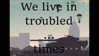 Green Day - Troubled Times lyric video