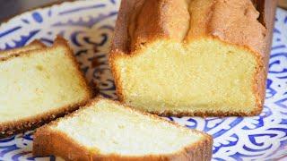 BOLO INGLÊS DE BAUNILHA | TIPO PULLMAN (POUND CAKE)