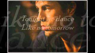 Enrique Iglesias - Bailamos -Lyrics- (mega lyrics)