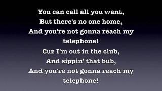 Telephone - Lady Gaga [Lyrics] HD