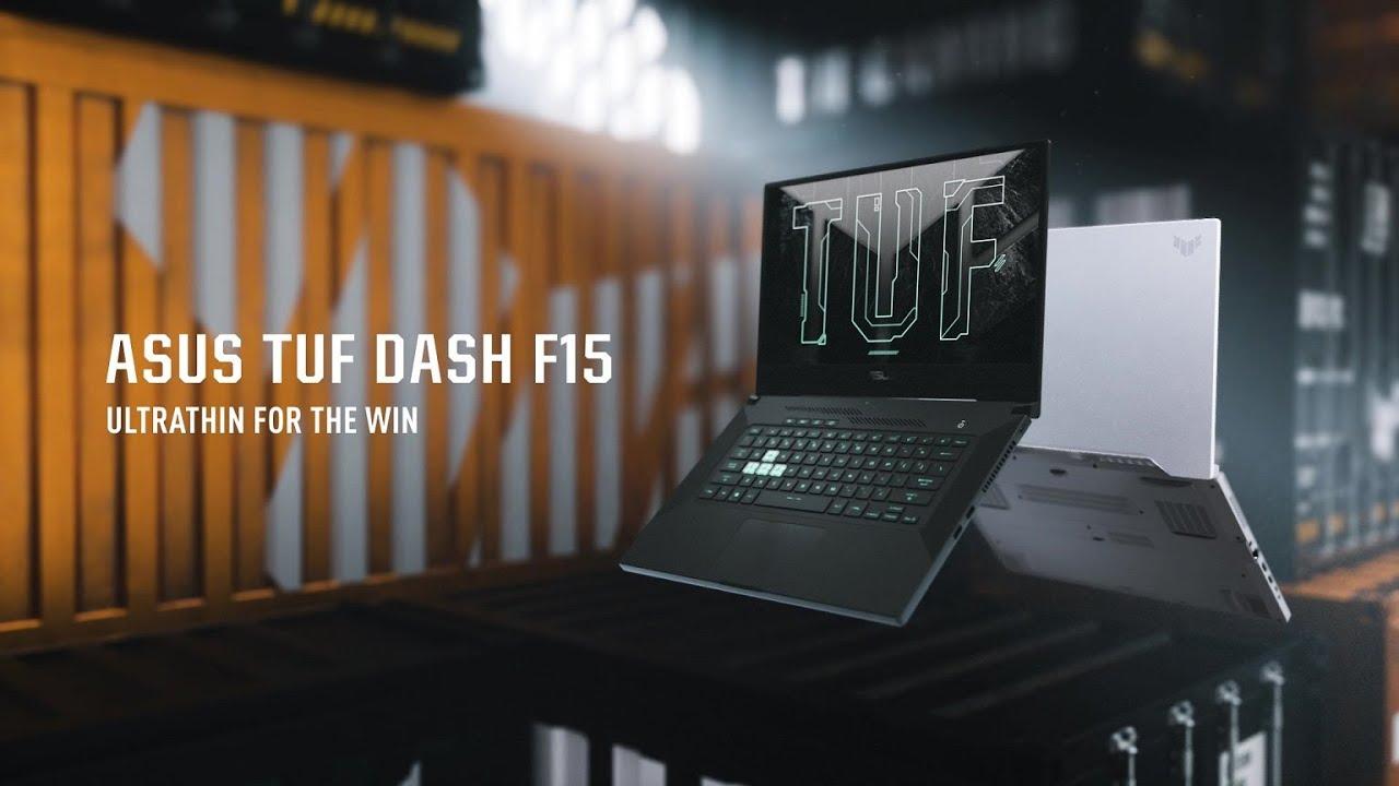 ASUS TUF Dash F15 | gaming laptop | ASUS UAE