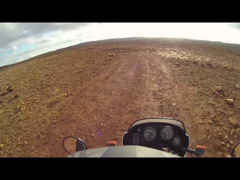 Maroc: la piste menant vers Matarka