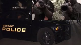 Detroit Savages Shoot a Music Video with Loaded Guns then Shoot at the Cops for Tryna Break it Up.