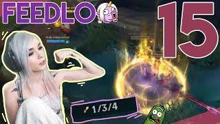 Ash - Feedlo | Stream Highlights 15 | League of Legends