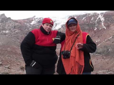 Mochila de Viaje asciende al Chimborazo, en Riobamba, Ecuador