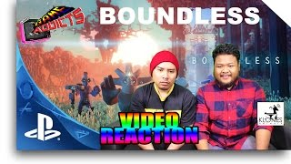 Boundless - Trailer Reaction PlayStationPGW (Game Addicts)