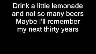 My next thirty years by Tim McGraw