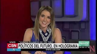 C5N - Tecno: Los políticos del futuro, en holograma