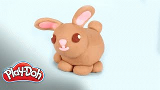 Play Doh | 'How To Make A Bunny!'